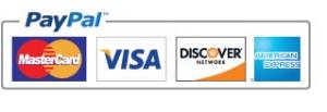 pay pal logo cedit cards